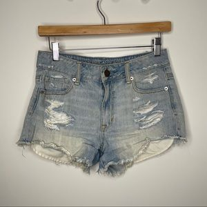 🎁4/20$🎁 high waisted ripped jean shorts